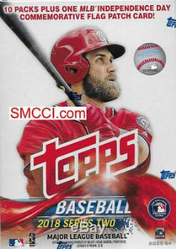 16 BOX CASE 2018 Topps Baseball Series 2 Unopened Blaster Boxes Retail Exclusive