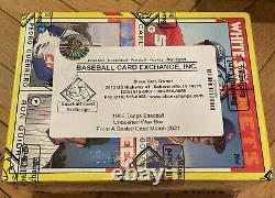1986 Topps Baseball Unopened Wax Box FROM A FACTORY SEALED CASE FASC BBCE Mint