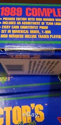 1989 Upper Deck Factory Sealed Set From A Case 12 Set Lot Case Griffey Psa 10