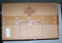 1991-92 Upper Deck Hockey High Number Factory Sealed Case Of 24 Boxes Hasek Rc