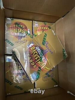 1992-93 FLEER SERIES 2 NBA BASKETBALL FACTORY SEALED BOX From Case