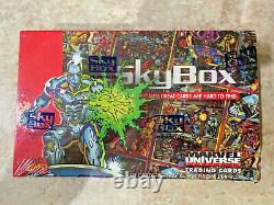 1993 Marvel Universe Series 4 Factory Sealed Box-FRESH CASE-QUANTITY AVAILABLE