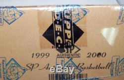 1999-2000 Sp Authentic Basketball Factory Sealed 12 Box Hobby Case Bbce #a3370