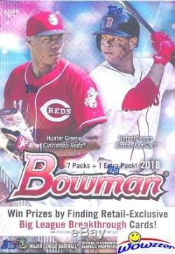 (2) 2018 Bowman Baseball EXCLUSIVE Factory Sealed Blaster CASES-32 Boxes Total