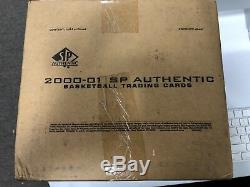 2000-01 Upper Deck Ud Sp Authentic Basketball Factory Sealed 12 Box Case Nba