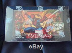 2008 Upper Deck Marvel Masterpieces series 3 Factory sealed Case of 12 Hobby Box