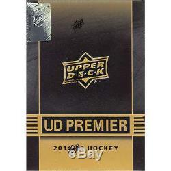 2014-15 Upper Deck UD Premier Collection Hockey Factory Sealed 10 Box Hobby Case