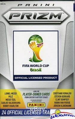 2014 Panini Prizm World Cup Factory Sealed 20 Box HOBBY Hanger CASE! Loaded