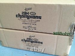 2014 Select Afl Champions Factory Sealed Case (12 Boxes) Dyer/ashcroft 300 Game
