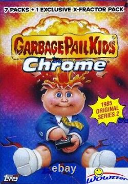 2014 Topps CHROME Garbage Pail Kids Factory Sealed 16 Blaster CASE BBCE Wrapped