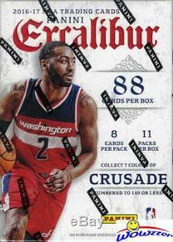 2016/17 Panini Excalibur Basketball EXCLUSIVE Factory Sealed 20 Box Blaster CASE
