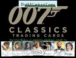 2016 James Bond Classics Factory Sealed 12 Box Hobby CASE 007