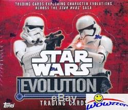 2016 Topps Star Wars Evolution 12 box Factory Sealed HOBBY Case-24 HITS! Loaded