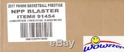 2017/18 Panini Prestige Basketball EXCLUSIVE Factory Sealed 20 Box Blaster CASE