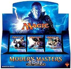 2017 Modern Masters MTG (Magic the Gathering) Factory Sealed 4 Box Booster Case