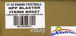 2017 Panini Football EXCLUSIVE Factory Sealed Blaster CASE-20 AUTOGRAPH/MEM