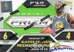 2018/19 Panini Prizm Basketball 20 Box Factory Sealed Blaster CASE-20 AUTO/MEM