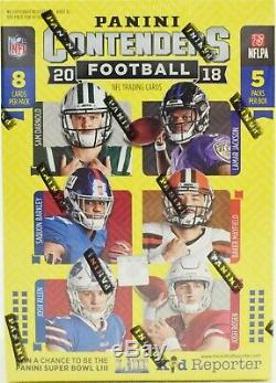 2018 Panini Contenders NFL Football Blaster 20 Box Factory Sealed Case