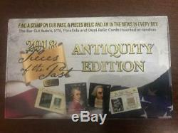 2018 Super Break Pieces of the Past Antiquity Edition Factory Sealed 10 Box Case