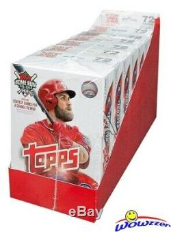 2018 Topps Series 2 Baseball EXCLUSIVE Hanger Case-8 HUGE Factory Sealed Boxes