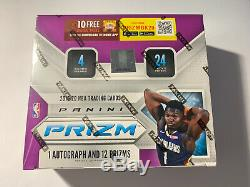 2019-2020 Panini Prizm Basketball Retail Box From Factory Sealed Case! Zion Ja