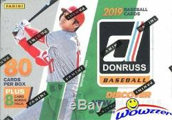 2019 Donruss Baseball EXCLUSIVE Factory Sealed 20 Box Blaster CASE-1,760 Cards