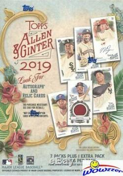2019 Topps Allen & Ginter Baseball EXCLUSIVE Factory Sealed 16 Box Blaster CASE