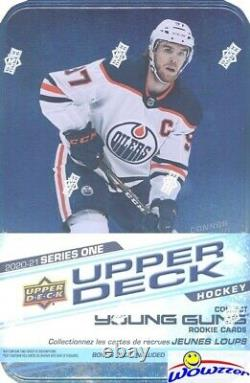 2020/21 Upper Deck Series 1 Hockey Factory Sealed 12 Box TIN CASE-24 Young Guns