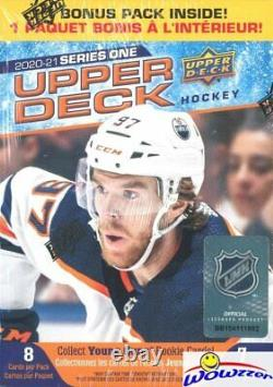 2020/21 Upper Deck Series 1 Hockey Factory Sealed 20 Box Blaster CASE-YOUNG GUNS
