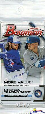 2020 Bowman Baseball EXCLUSIVE Factory Sealed 108ct JUMBO FAT PACK CASE-2,052 Cd