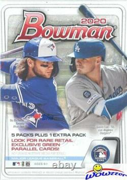 2020 Bowman Baseball EXCLUSIVE Factory Sealed 40 Box Blaster CASE-2,880 Cards