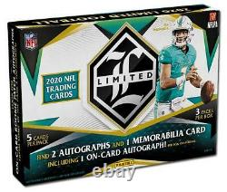2020 Panini Limited Football Factory Sealed Hobby Box In Stock Free Shipping