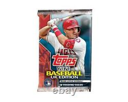 2020 Topps Baseball UK Edition Hobby Box Factory Sealed from a Case IN HAND