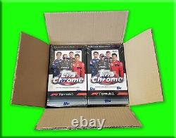 2020 Topps Chrome FORMULA 1 Racing Factory Sealed From Case Hobby Box NEW