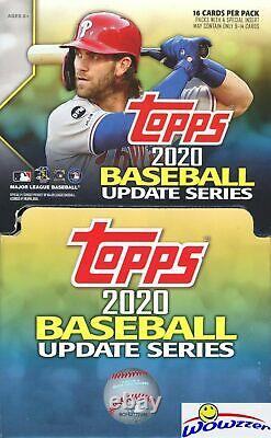 2020 Topps Update Baseball GRAVITY FEED 6 Box Factory Sealed CASE-3,456 Cards