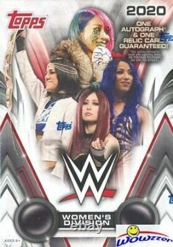 2020 Topps WWE Womens Division Wrestling Factory Sealed HOBBY 8 Box CASE-16 HIT