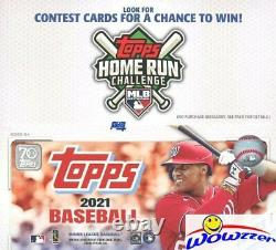 2021 Topps Series 1 Baseball Factory Sealed 24ct Retail 12 Box CASE-4,608 Cards