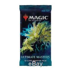 4x Ultimate Masters Booster Box Factory SEALED Case! MTG Pre-Order