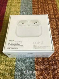 Apple AirPods PRO + Bluetooth Wireless Charging Case FACTORY-SEALED
