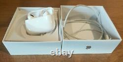 Apple AirPods Pro & Wireless Charging Case NewithWhite/Factory Sealed
