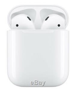 Apple AirPods with Charging Case White MMEF2AM/A Factory Sealed
