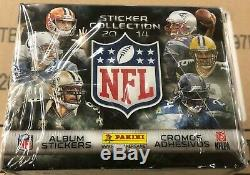 CASE of (24) Factory Sealed 2014 Panini Football NFL 50 PACK Sticker BOXES W@W
