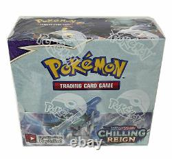 CASE of 6 Pokemon TCG CHILLING REIGN Booster Box FACTORY SEALED NEW