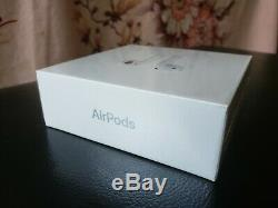 FACTORY SEALED Apple AirPods 2nd Generation With Charging Case A2032 White