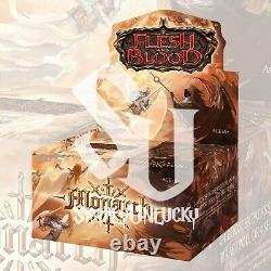 FLESH and BLOOD MONARCH Booster Box Case 1ST EDITION FACTORY SEALED IN STOCK