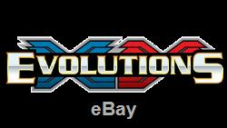 Factory Sealed XY Evolutions Case of 6 Boxes 216 Booster packs. Pokemon Cards