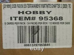 Fortnite Series 2 Factory Sealed Hobby Case 12 Boxes 2020 Panini HOT