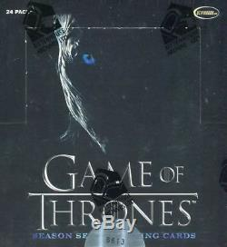 Game of Thrones Season 7 Sealed Factory Sealed Case / 12 Card Boxes