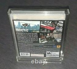 Grand Theft Auto IV (PS3, 2008) BLEMISHED FACTORY SEALED GAME + DISPLAY CASE