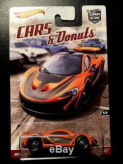 Hot Wheels Car Culture 2017 Cars & Donuts Factory Sealed Case 10pc L